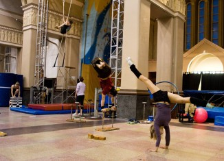 2e Bal masqué de l'École de cirque