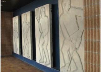 Colisée de Québec: Les 4 murales de béton préservées
