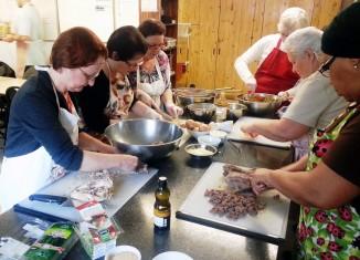 Cuisine collective dans St-Sacrement
