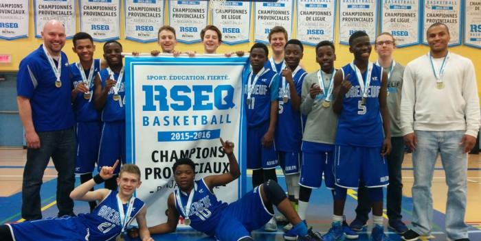 Aquilon Basket: Les benjamins, champions provinciaux