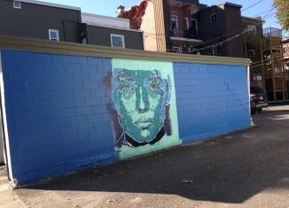 Vu: La nouvelle murale de MC Grou