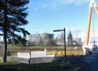Nouveaux bancs pour la rivière St-Charles