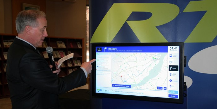 RTC: Nouveaux écrans tactiles