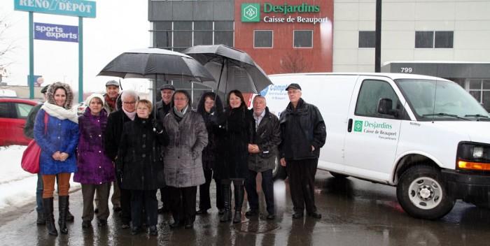 Nouvelle camionnette pour le Comptoir St-Vincent-de-Paul