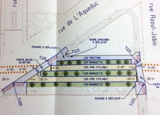 Piste cyclable sur Montmagny:Vers des aménagements permanents
