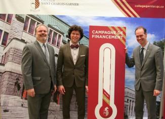 Campagne de 2,5 M$ pour le Collège St-Charles-Garnier