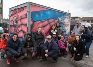 Trousses gratuites pour nettoyer les graffitis