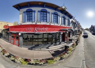 Café Krieghoff: Ouverture de la succursale sur Maguire