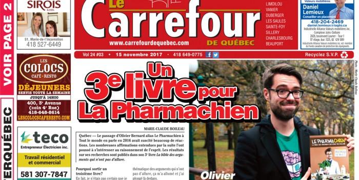 Le Carrefour: Édition du 15 novembre