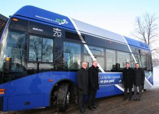 Un premier midibus pour le RTC