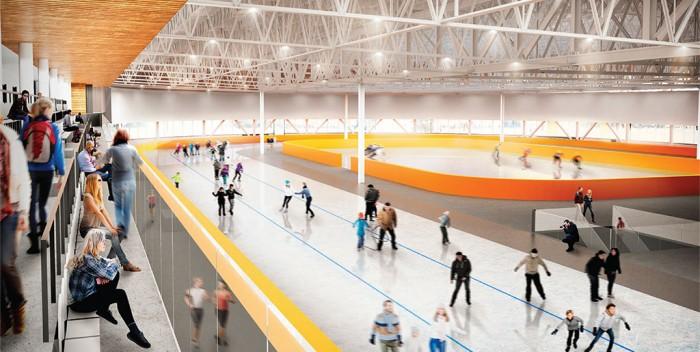 Centre de glaces: En construction dès août 2018