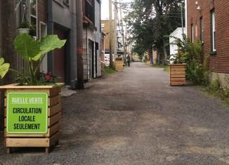 Ruelles vertes:5 projets l'été prochain