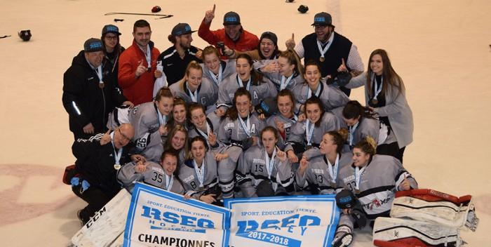 Hockey féminin: Les Titans remportent l'or