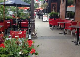 Cafés-terrasses pour 16 commerces de La Cité-Limoilou