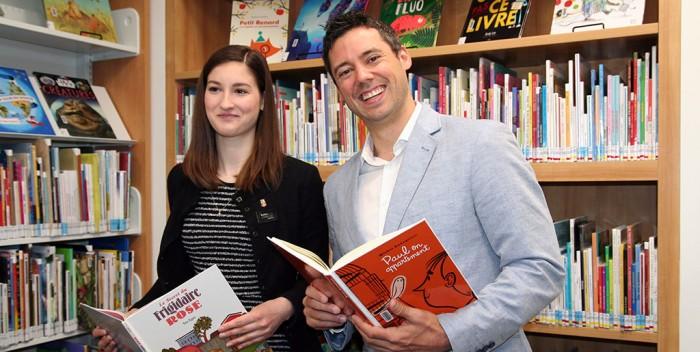 Bibliothèque de Saint-Sauveur:Une 26e fierté