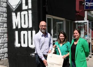 Un sac réutilisable pour soutenir les organismes de Limoilou