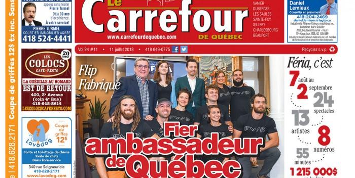 Le Carrefour: Lisez le journal du 11 juillet