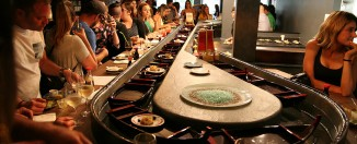 Nicky Sushi:Une première rivière à sushis à Québec