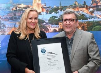 Développement durable: La Ville certifiée platine