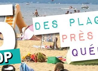 Top 5 des plages à essayer près de Québec