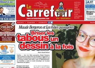 Lisez Le Carrefour du 22 août