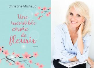 Christine Michaud:Fleurir un livre à la fois