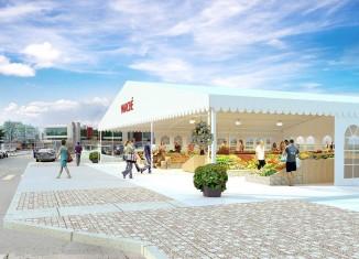 Marché satellite du Vieux-Port: Pas de déménagement, mais un chapiteau