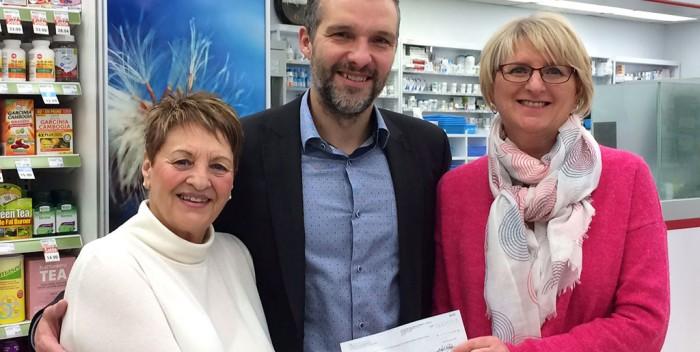 Centre étape: Pharmaprix remet 1517$