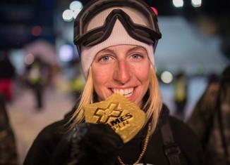 Laurie Blouin championne du Big Air aux X Games