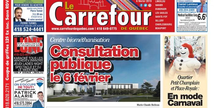 Le Carrefour du 6 février