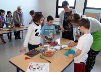 Des ateliers de cuisine pour 5 écoles primaires