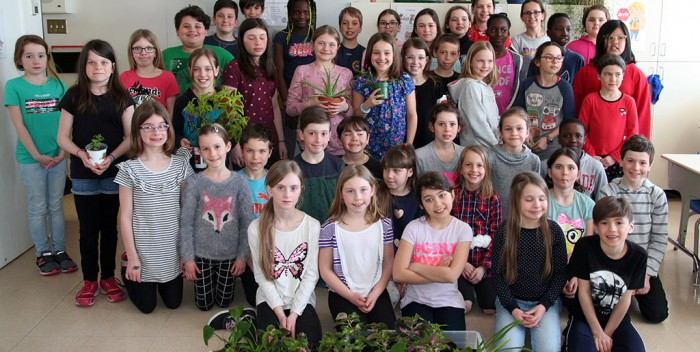 École du Domaine: Des élèvesjardiniers et entrepreneurs
