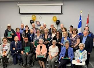 Jean-Yves Duclos honore des bénévoles