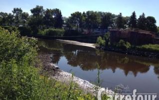 Passerelle rivière St-Charles